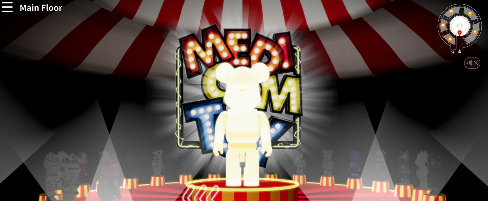 MEDICOM TOY EXHIBITION 2020 IN VIRTUAL